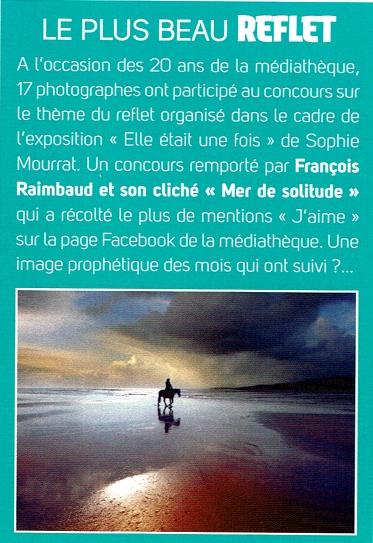 Article Médiathèque La Riche - concours photo 2020