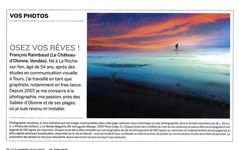 Raimbaud - Le Monde Magazine